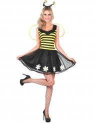 Zwart en geel bij kostuum voor dames