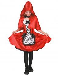 Klein Roodkapje kostuum met schort voor meisjes