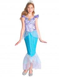Blauw en paars zeemeermin kostuum voor meisjes