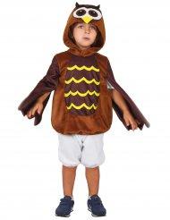 Bruine uil outfit voor kinderen