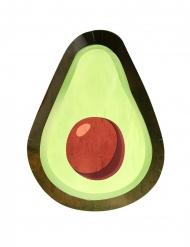 8 kartonnen groene avocado borden
