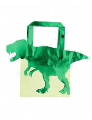 5 dinosaurus papieren cadeautasjes