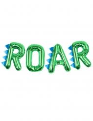 Groene aluminium ROAR letter ballonnen