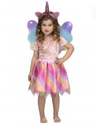 Regenboog eenhoorn tutu kostuum voor meisjes