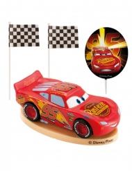 Plastic Cars™ taart decoratie set