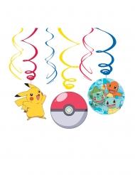 6 Pokemon™ spiraaldecoraties