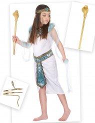 Egyptisch kostuum pack met armband en scepter voor meisjes