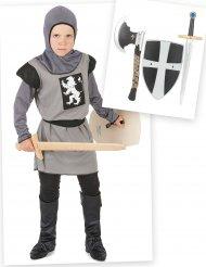 Ridder kostuum pack met accessoires voor jongens