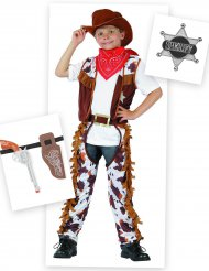 Cowboy kostuum met accessoires voor jongens