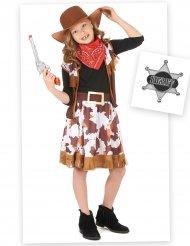 Cowgirl kostuum pack met accessoires voor meisjes