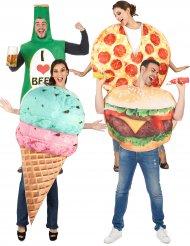 Fast food groepskostuum voor volwassenen