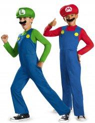 Mario™ en Luigi™ koppelkostuum voor kinderen