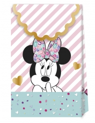 6 kartonnen premium Minnie™ cadeauzakjes