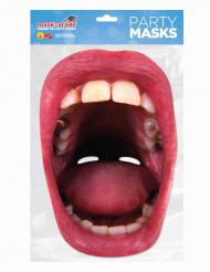Enorme open mond masker voor volwassenen