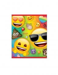 8 plastic Emoji Rainbow™ cadeauzakjes