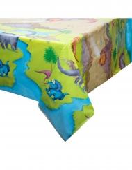 Plastic dinosaurus landschap tafelkleed