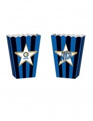 4 kartonnen Inter™ popcorn bakjes