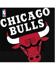16 papieren Chicago Bulls™ servetten