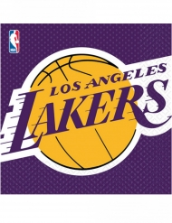 16 papieren Lakers™ servetten