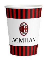 8 kartonnen AC Milan™ bekers