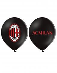 12 latex AC Milan™ ballonnen