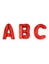 Rode aluminium letter ballon