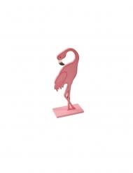 Roze flamingo decoratie op voet
