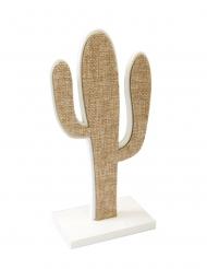 Stoffen cactus op voet