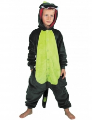 Groene dinosaurus outfit voor kinderen