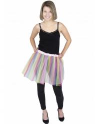 Veelkleurige pastel ballerina tutu voor volwassenen