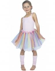 Pastelkleurige ballerina tutu voor kinderen