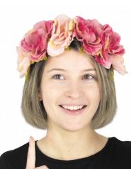 Vintage haarband met bloemen voor volwassenen