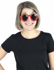 Aardbei bril voor volwassenen