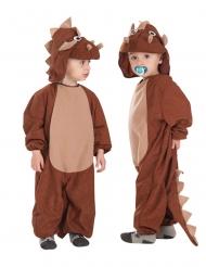 Kleine Triceratops kostuum voor kinderen