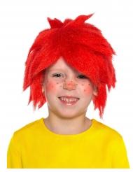 Pumuckl™ pruik voor kinderen