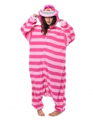 Cheshire Cat Alice in Wonderland™ Kigurumi™ pak voor volwassenen