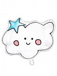 Witte wolk aluminium ballon