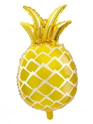 Aluminium gele ananas ballon