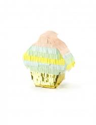 Mini metallic cupcake pinata