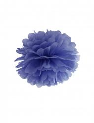 Donkerblauwe papieren hangdecoratie