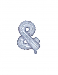 Aluminium regenboogkleurige & ballon