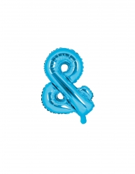 Blauwe aluminium & ballon