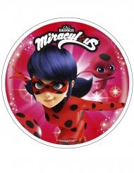 Willekeurige Miraculous™ Ladybug™ eetbare schijf