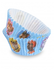 50 blauwe Paw Patrol™ cupcakevormen