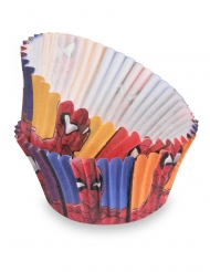 50 Spiderman™ cupcakevormen