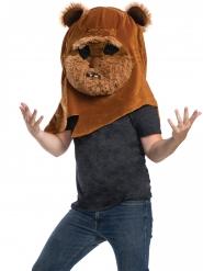 Ewok™ mascotte masker voor volwassenen
