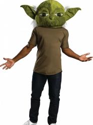 Yoda™ mascotte masker voor volwassenen
