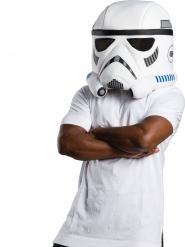 Stormtrooper™ mascotte masker voor volwassenen