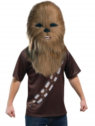Chewbacca™ mascotte masker voor volwassenen