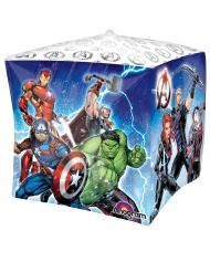 Aluminium Avengers™ kubus ballon